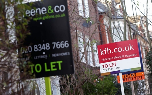 Record numbers of renters have left London over the past year
