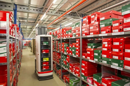 Puma sprints for tech innovation in warehousing and logistics