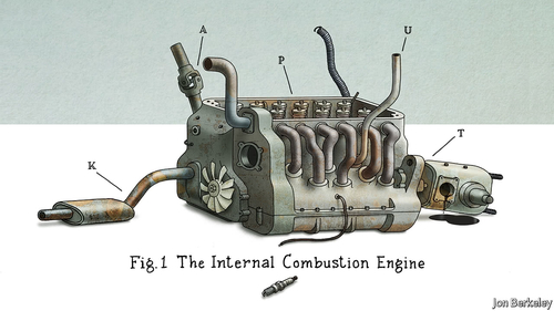 Will the combustion engine become a collector's item?