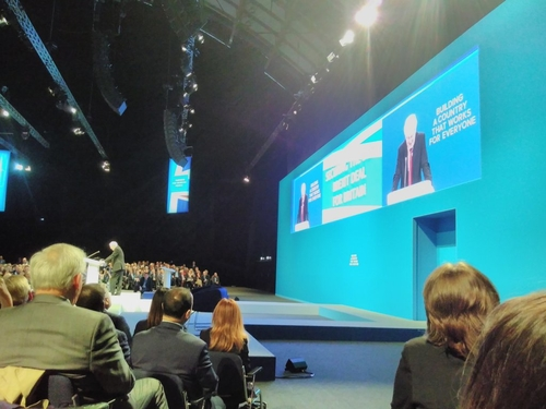 More than a cough: 3 Big themes from party conference season that may affect your organisation