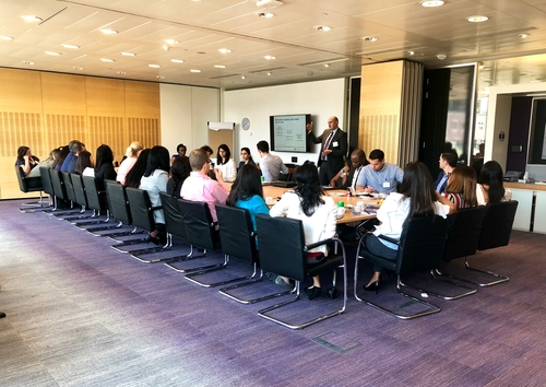 Healthcare tops the agenda as Grant Thornton hosts MBA students