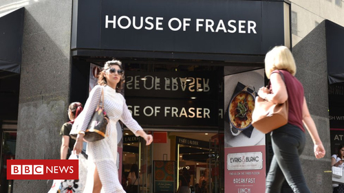 Sporting fixture for House of Fraser?