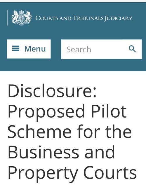 Civil litigation disclosure: the reforms are revealed