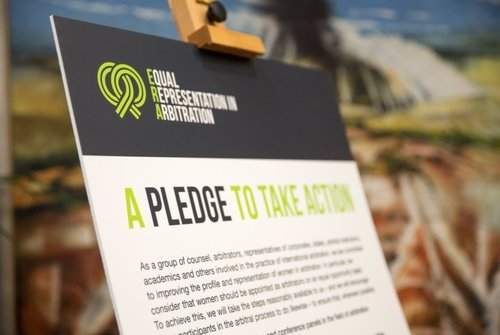 The Equal Representation in Arbitration Pledge reaches 3,000 signatures