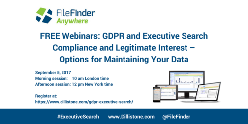 NEW WEBINAR: Compliance and Legitimate Interest – Options for Maintaining Your Data