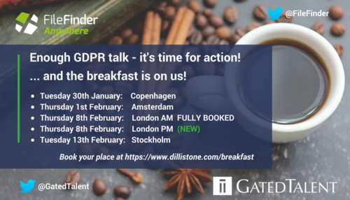 Enough GDPR Talk - It's Time for Action!