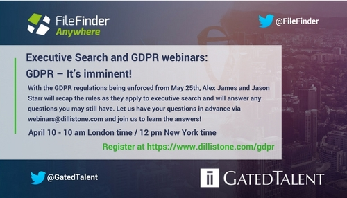 GDPR Q&A webinar for Executive Recruiters