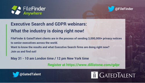 Executive Search & GDPR – What the industry is doing right now!