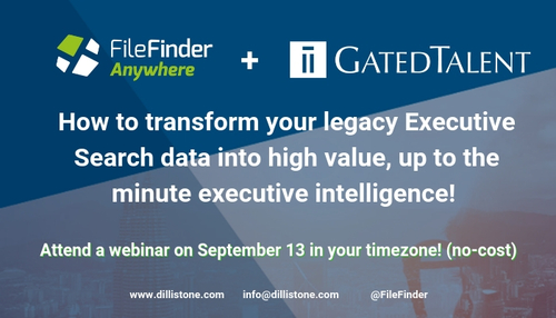 [Webinar for Executive Recruiters] How to transform your legacy data into high value, up to the minute executive intelligence