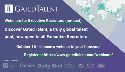[Webinar for Executive Recruiters] Discover a Truly Global Talent Pool, Now Open to All Executive Recruiters