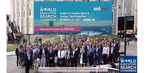 5 Reasons Why Networking at The World Executive Search Congress is Invaluable