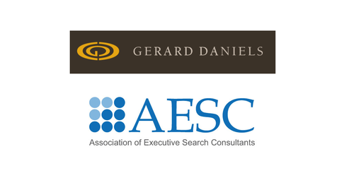 AESC Welcomes Gerard Daniels into its Global Membership