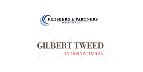 Friisberg & Partners International Welcomes U.S. Firm Gilbert Tweed International as Partners