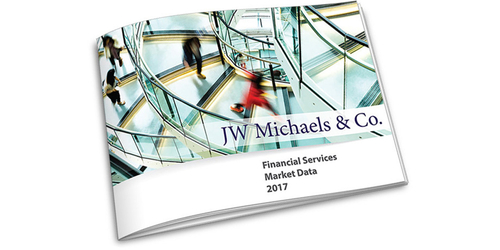 JW Michaels & Company Releases Annual Financial Services Market Data Report Based on Completed 2017 Placements