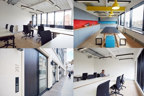** Fabulous 9 desk office for rent in King's Cross **