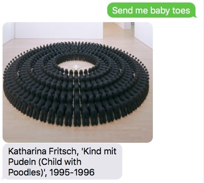 Unlike your kids, SFMOMA always texts you back