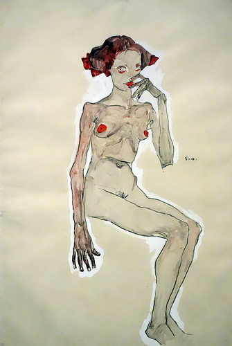 #ToArtItsFreedom: controversy around Schiele's nudes in Vienna