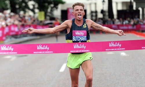 10k's harder than marathons? Vitality 10000
