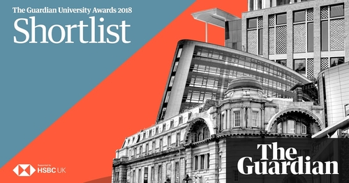 Guardian University Awards 2018 : Finalists  Announced