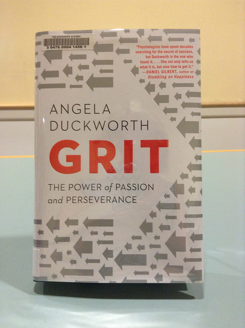 Recipe for success - 'Grit' (passion and perseverance)?