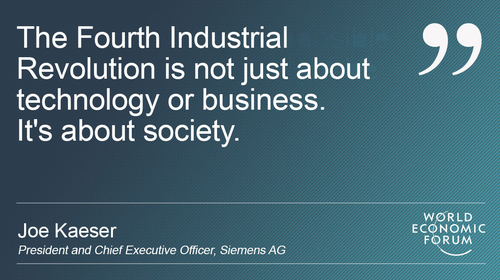 The Fourth Industrial Revolution, it's not judgement day