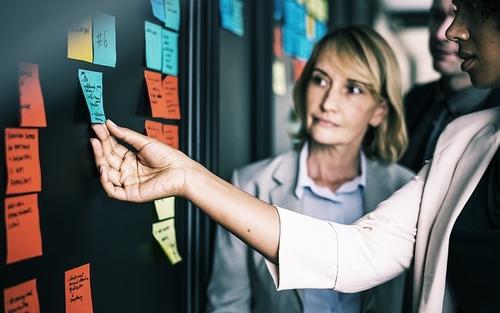 Co-CEOs? Co-female-CEOs? Possibly  the way forward.