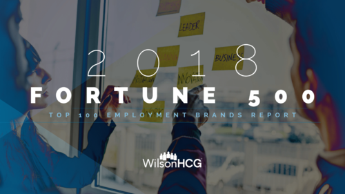 Fortune 500 top employer brands report
