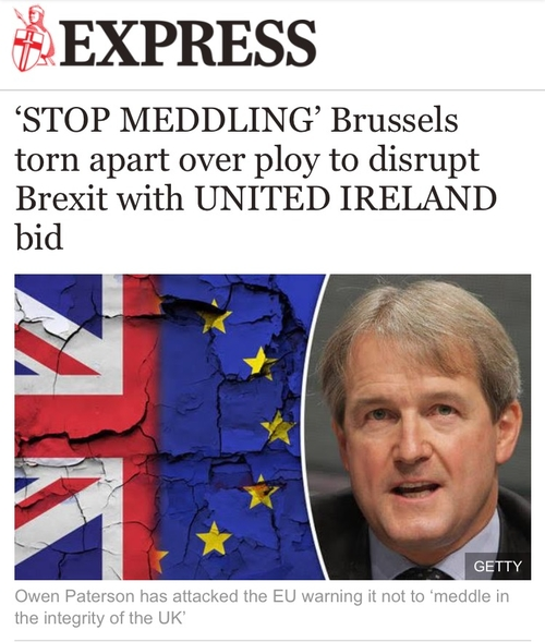 Northern Ireland is the EU's business in Brexit negotiations: Irish Times opinion piece today