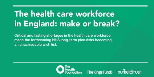 Workforce challenges in healthcare