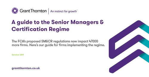 SM&CR Handbook - help navigating the FCA's new accountability regime