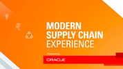"Three must-see events at Oracle's ""Modern Supply Chain Experience"""