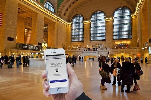 NYC Commuters to Use Mobile Phones as Train Tickets