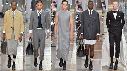 There's nothing new about boys in skirts