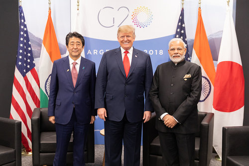 India Looks Beyond America First