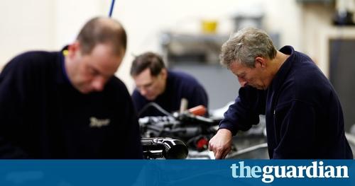 Slowdown in UK manufacturing