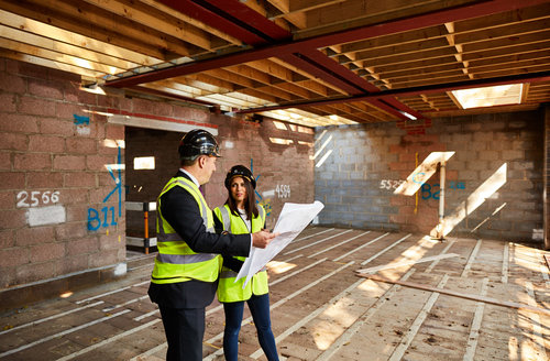 On site with Amara Property.  Talking building, borrowing and planning