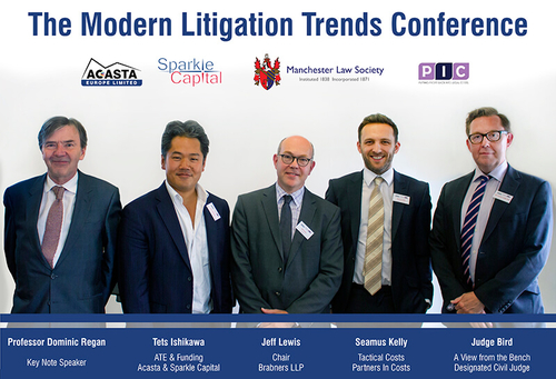 Modern Litigation Trends conference chaired by Brabners