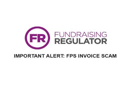 Fundraising Regulator affected by invoice scam
