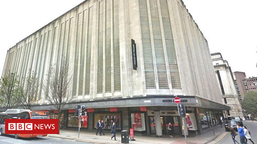 House of Fraser is saved, securing 568 jobs.