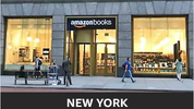 Amazon Bookstore - subtly blending physical and digital experience