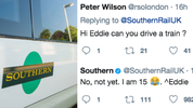 A masterstroke by Southern Rail and Eddie the work experience guy
