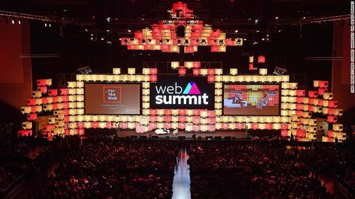 Two sides of the tech coin at Web Summit