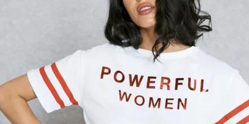Les messages féministes...