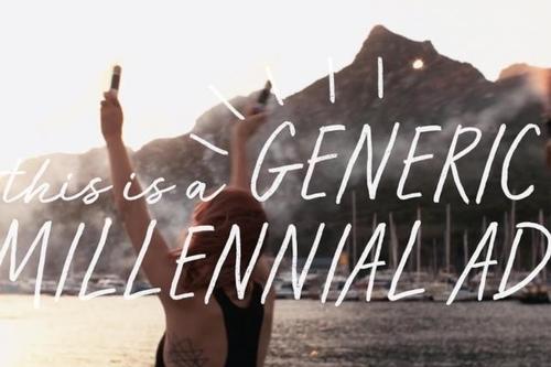 Target millennials. Don't be generic.
