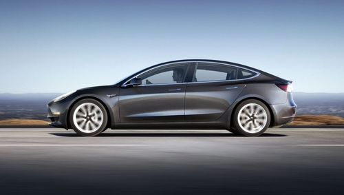 The Model electric vehicle - Tesla bring us performance, technology AND savings