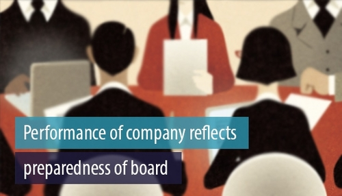 McKinsey insight on impact of a well convened Board