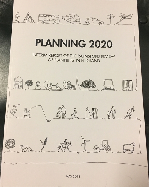 Release of the Interim Report of the Raynsford Review of Planning in England