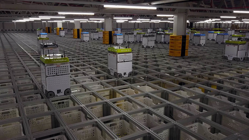 The Impact of Innovation in Warehouse Robotics
