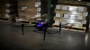 Drones that fly in the workplace