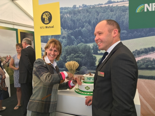 Foot Anstey celebrates landmark 30 years of the NFU's Legal Assistance Scheme at the Devon County Show